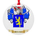 Schucker Round Ornament