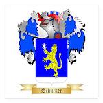 Schucker Square Car Magnet 3
