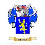 Schucker Small Poster