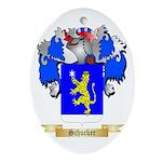 Schucker Oval Ornament