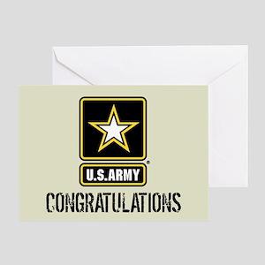 U.S. Army: Congratulations (Sand) Greeting Card