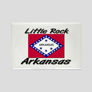 Little Rock Arkansas Rectangle Magnet