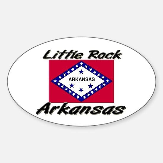 Little Rock Arkansas Oval Decal