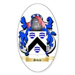 Sikes Sticker (Oval 50 pk)