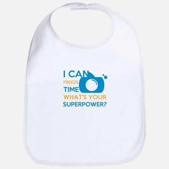 i can free time, what's your superpower? Bib