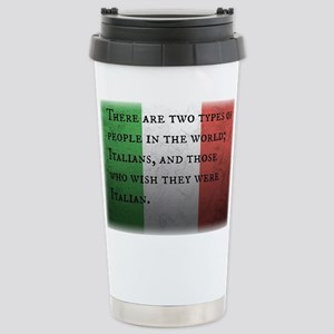 Two Types of People Travel Mug