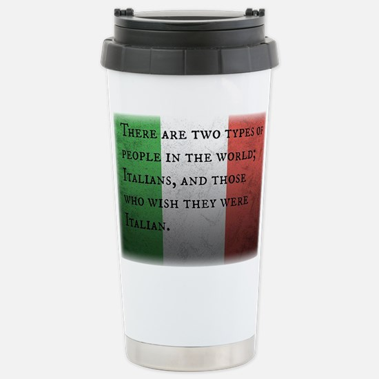 Two Types of People Travel Mug