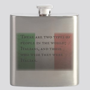 Two Types of People Flask