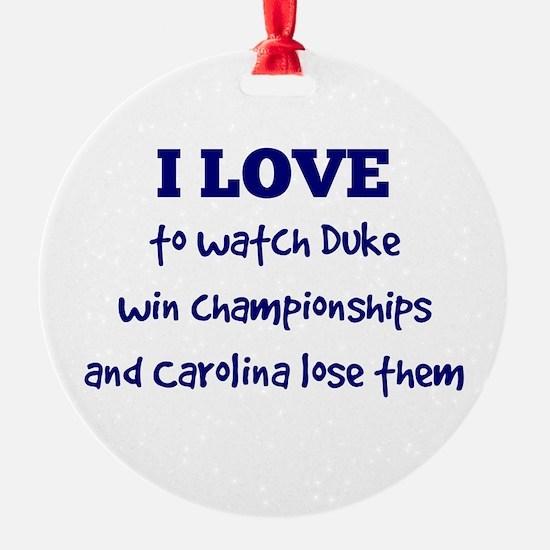 Duke! Ornament