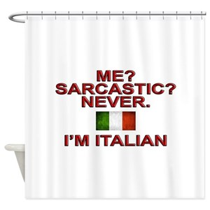 Italian Shower Curtains
