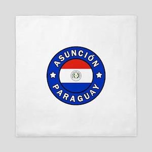 Asuncion Paraguay Queen Duvet