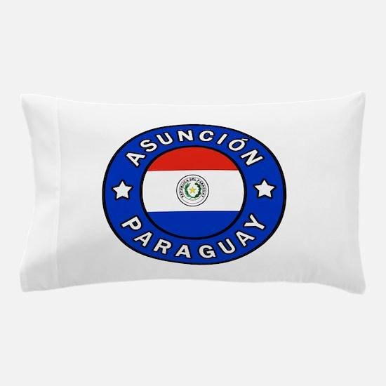 Asuncion Paraguay Pillow Case