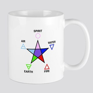 Five_elements_and_pentagram Mugs