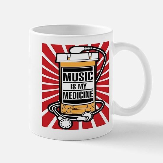 Music Is My Medicine Mugs