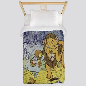 Cowardly_Lion_from_Dorothy_Wizard_of_Oz Twin Duvet