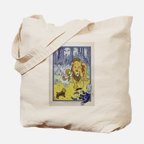 Cowardly_Lion_from_Dorothy_Wizard_of_Oz_1 Tote Bag