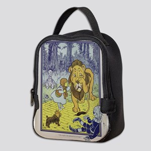 Cowardly_Lion_from_Dorothy_Wiza Neoprene Lunch Bag
