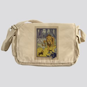 Cowardly_Lion_from_Dorothy_Wizard_of Messenger Bag