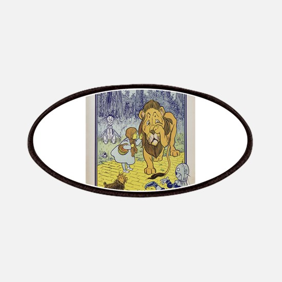 Cowardly_Lion_from_Dorothy_Wizard_of_Oz_1901 Patch