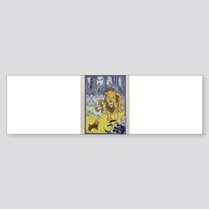 Cowardly_Lion_from_Dorothy_Wizard_o Bumper Sticker