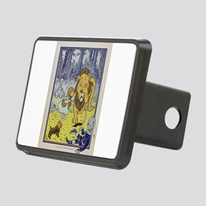 Cowardly_Lion_from_Dorothy Rectangular Hitch Cover