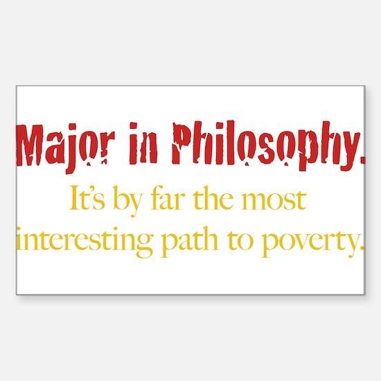Major in Philosophy Decal