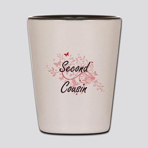 Second Cousin Artistic Design with Butt Shot Glass