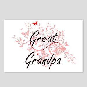 Great Grandpa Artistic De Postcards (Package of 8)