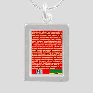 Selassie Speech to U N 1963 War Speech Necklaces