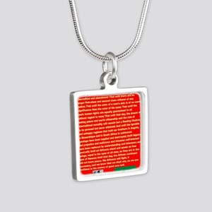 Selassie Speech to U N 1963 War Speech Necklaces