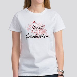 Great Grandmother Artistic Design with But T-Shirt