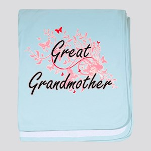 Great Grandmother Artistic Design wit baby blanket