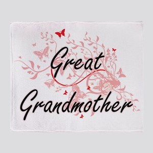 Great Grandmother Artistic Design wi Throw Blanket