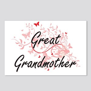 Great Grandmother Artisti Postcards (Package of 8)