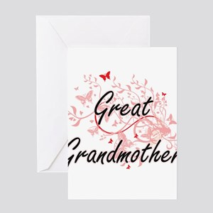 Great grandmother greeting cards cafepress great grandmother artistic design w greeting cards m4hsunfo