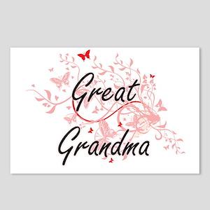 Great Grandma Artistic De Postcards (Package of 8)
