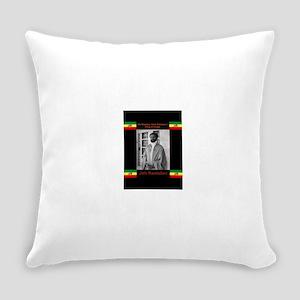 Haile-Selassie-Jah_Rastafari Everyday Pillow