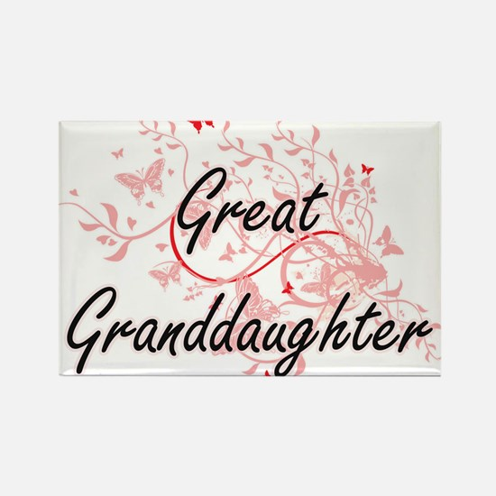 Great Granddaughter Artistic Design with B Magnets