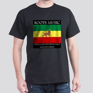 Roots Music Reggae Lion of Judah Flag T-Shirt
