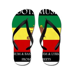 784cd3d03 Dreadlocks Flip Flops - CafePress