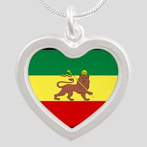 Roots-Music-Flag-Ethiopia Necklaces
