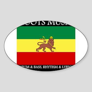 Roots-Music-Flag-Ethiopia Sticker