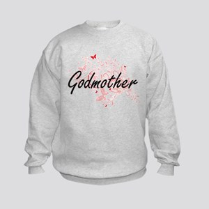 Godmother Artistic Design with But Kids Sweatshirt