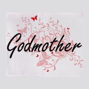 Godmother Artistic Design with Butte Throw Blanket