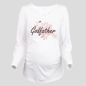 Godfather Artistic D Long Sleeve Maternity T-Shirt