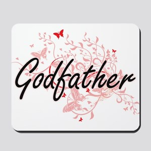 Godfather Artistic Design with Butterfli Mousepad