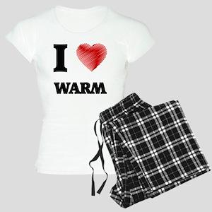 I love Warm Women's Light Pajamas