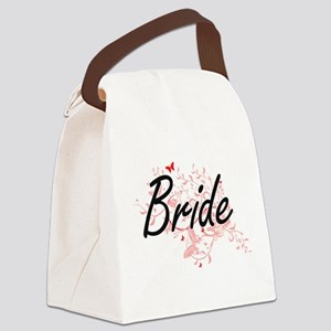 Bride Artistic Design with Butter Canvas Lunch Bag