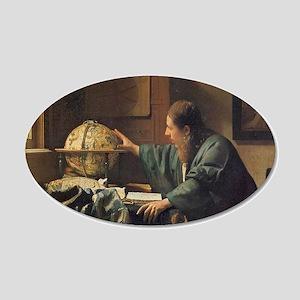 Vermeer 20x12 Oval Wall Decal
