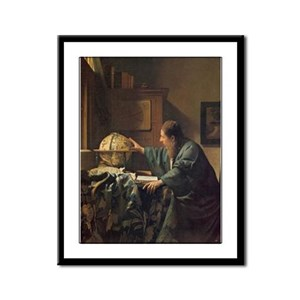 Vermeer Framed Panel Print